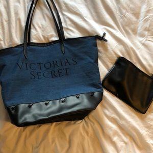 Victoria's Secret bag + pouch